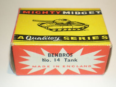 Benbros No.14 Tank Mighty Midget box