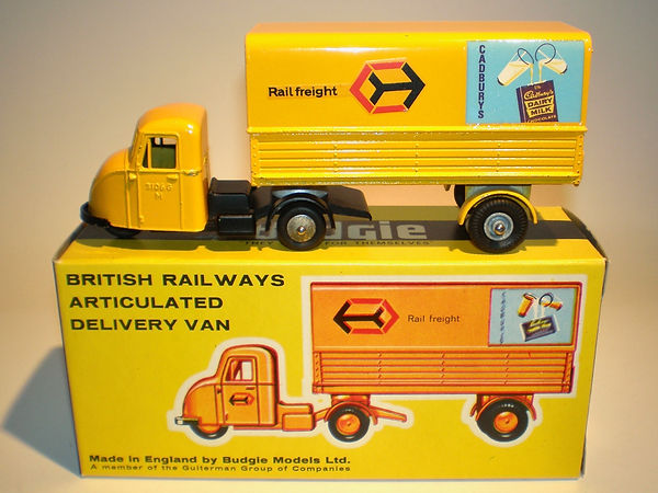 Budgie No.238 British Railways Delivery Van - Hard Top