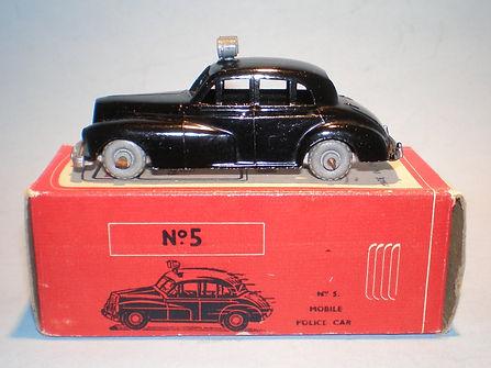 Morestone Esso Petrol Pump Series No.5 Police Car