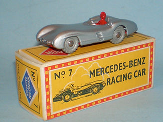 Budgie No.7 Mercedes-Benz Racing Car - Mobile box