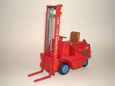 Benbros Zebra Toys Fork Lift Truck