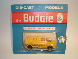 Budgie Miniatures Nos.50-55 Road Tankers - blue blister-pack