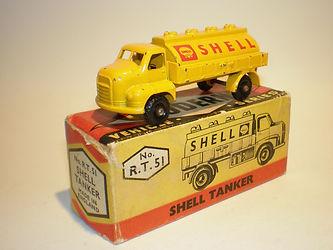 Budgie Miniatures No.51 Shell Tanker