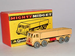 Benbros Mighty Midget No.21 Foden Diesel Wagon (beige with red trim)