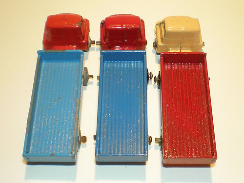 Benbros Mighty Midget No.47 Articulated Wagon colours