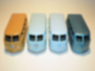 Budgie Miniatures No.12 VW Micro Bus - colours