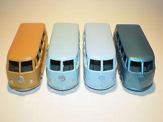 Budgie Miniatures No.12 VW Micro Bus - colours