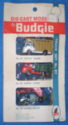 Budgie Miniatures No.97A Truck Set