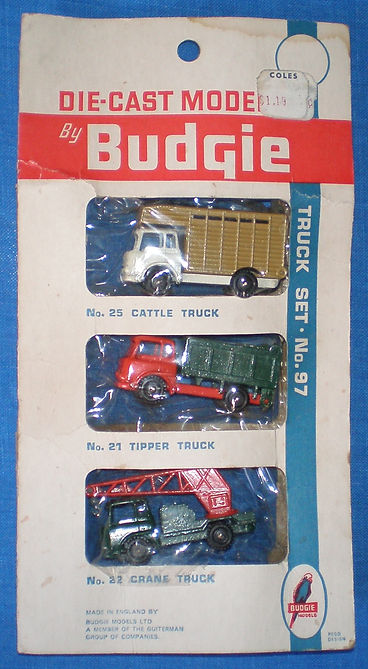Budgie Miniatures No.97A Truck Set