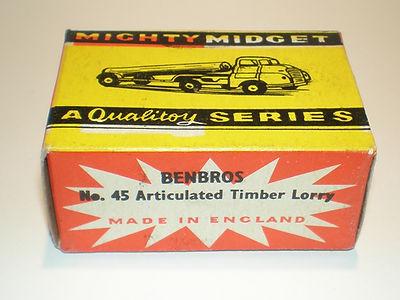 Benbros Mighty Midget No.45 Timber Lorry box