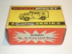 Benbros No.35 Army Land Rover - Mighty Midget box