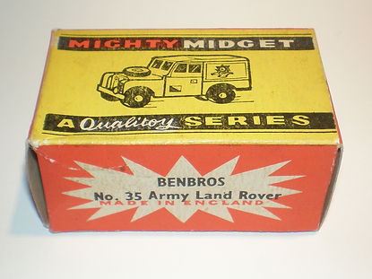 Benbros No.35 Army Land Rover - Mighty Midget box
