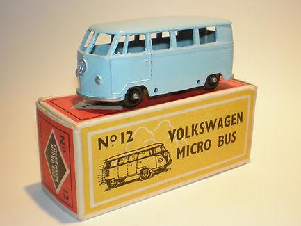 Budgie Miniatures No.12 VW Micro Bus - bpw, Modern (type 1) box