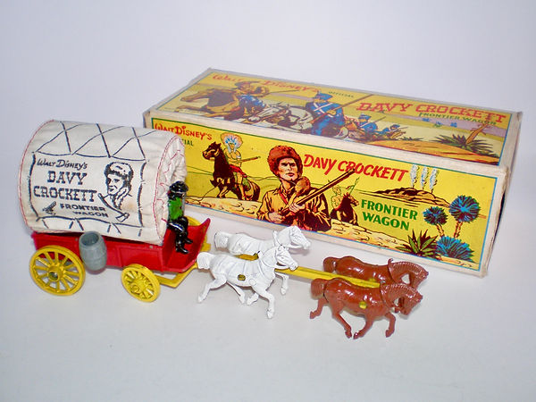 Morestone Covered Frontier Wagon Davy Crockett