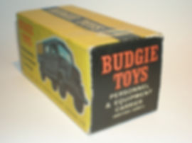 Budgie No.212 Personnel & Equipment Carrier (British Army) box