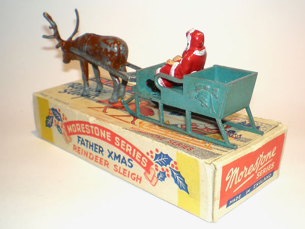 Morestone Father Christmas Reindeer Sleigh