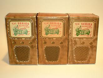 Benbros TV Series No.3 AA Motorcycle boxes
