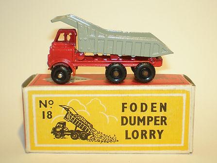 Budgie Miniatures No.18 Foden Dumper Lorry