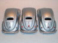 Budgie Miniatures No.8 Volkswagen - rear trim variations