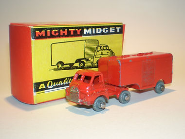 Benbros Mighty Midget No.43 Articulated Van