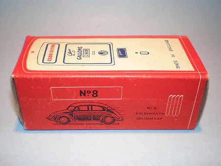 Morestone Esso Petrol Pump Series No.8 box