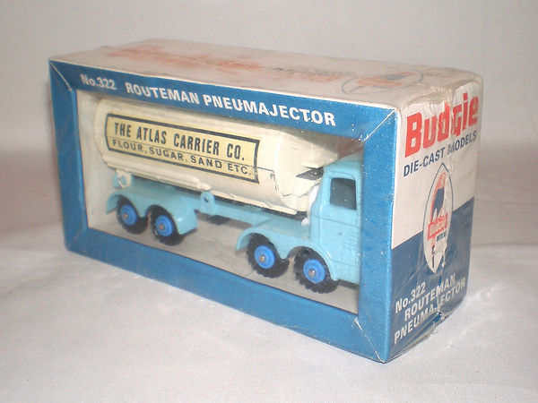 Budgie No.322 Routeman Pneumajector