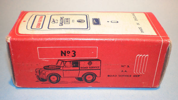 Morestone Esso Petrol Pump Series No.3 box