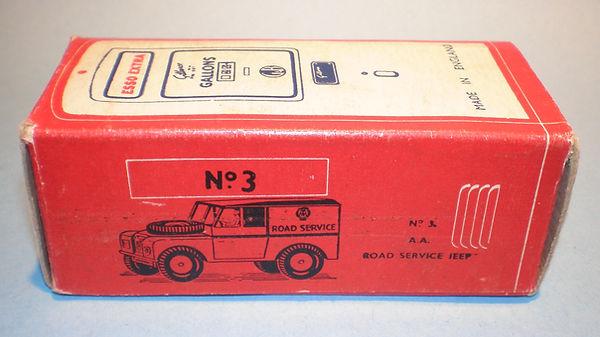 Morestone Esso Petrol Pump Series No.3 box