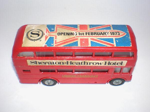 Budgie No.236 Routemaster Bus (Series 2): Sheraton-Heathrow Hotel