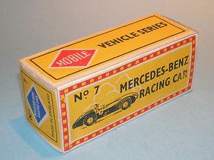 Budgie Miniatures Mobile Vehicle Series Box No.7 Mercedes-Benz