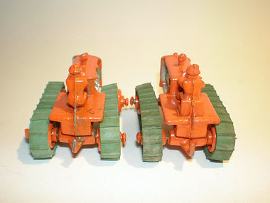 Benbros No.19 Tractor & Trailer - with and without seats