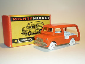 Benbros Mighty Midget No.39 Milk Delivery Van