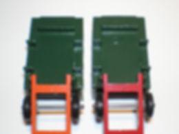 Budgie Miniatures No.21a Tipper Truck variations