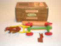 Benbros TV Series No.2 Log Cart