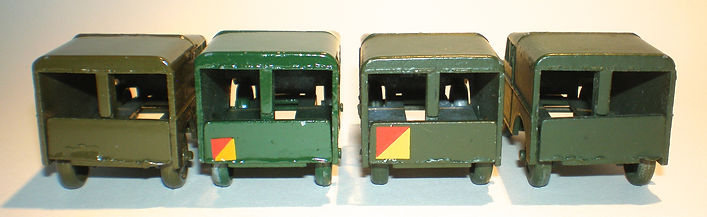 Benbros No.35 Army Land Rover - colours & rear decals