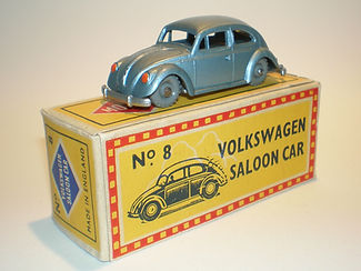 Budgie Miniatures No.8 Volkswagen - gpw, Mobile box