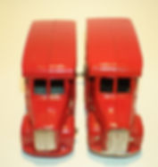 Budgie Miniatures No.11 Royal Mail Van - trim variations