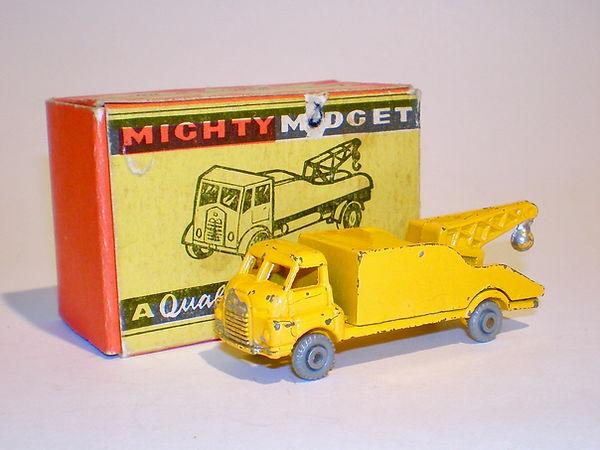 Benbros Mighty Midget No.33 Breakdown Lorry - yellow, gpw