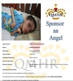 SPONSOR AN ANGEL