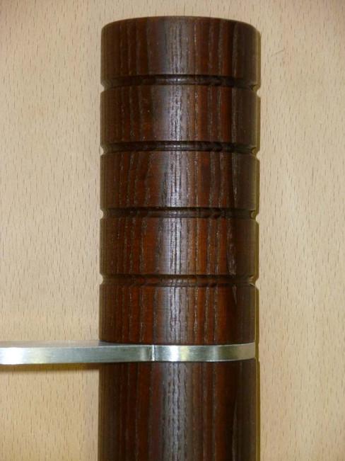 Detailansicht der Stossergriffe