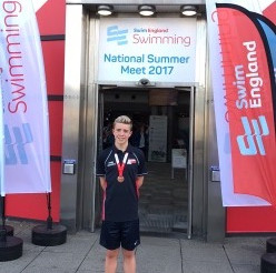 Bronze medal for Finn at English Nationals