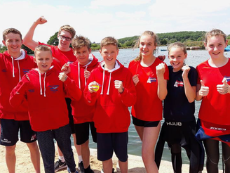 Well Done to all Midlands Open Water Swimmers