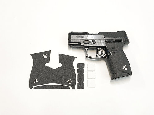 Taurus G2 C Millennium with White Inserts Gun Grip Enhancement Gun Kit