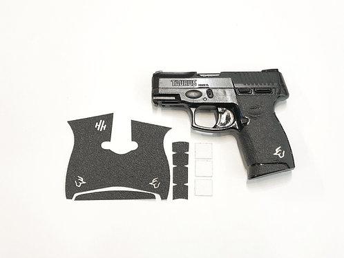 Taurus G2 C  with White Inserts Gun Grip Enhancement Gun Kit