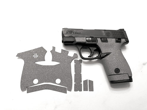 Smith and Wesson Shield 9/40 Grey Textured Rubber Gun Grip Enhancement Gun Part
