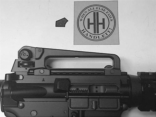 AR 15 Shell Casing Deflector Textured Rubber Enhancement
