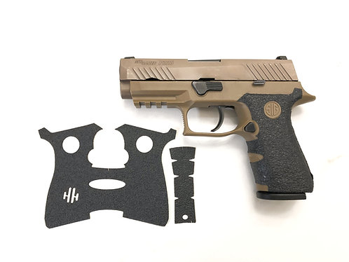 SIG SAUER P320 X series Compact Gun Grips Enhancement Gun Parts Kit