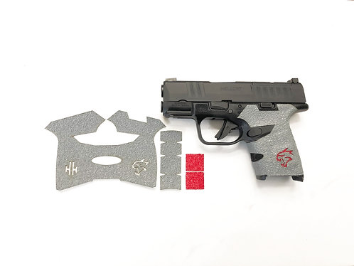 Springfield HELLCAT Gray Gun Grip Enhancement Gun Parts Kit Color Insert