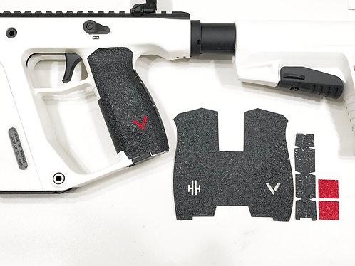 Kriss Vector Gun Grip Enhancement Wrap Kit with Red Insert