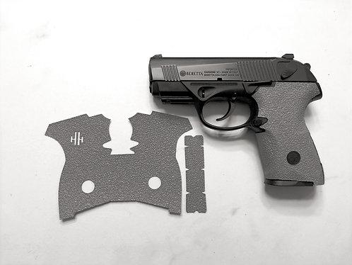 Beretta Storm PX4 Storm Compact  Gray Textured Rubber Gun Grip Enhancement Kit